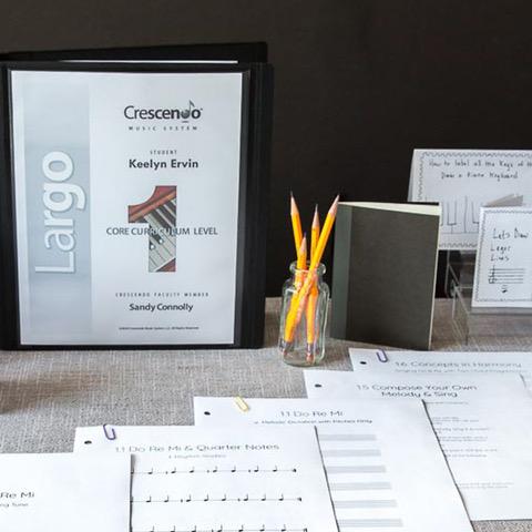 Crescendo Music System Starter Binder