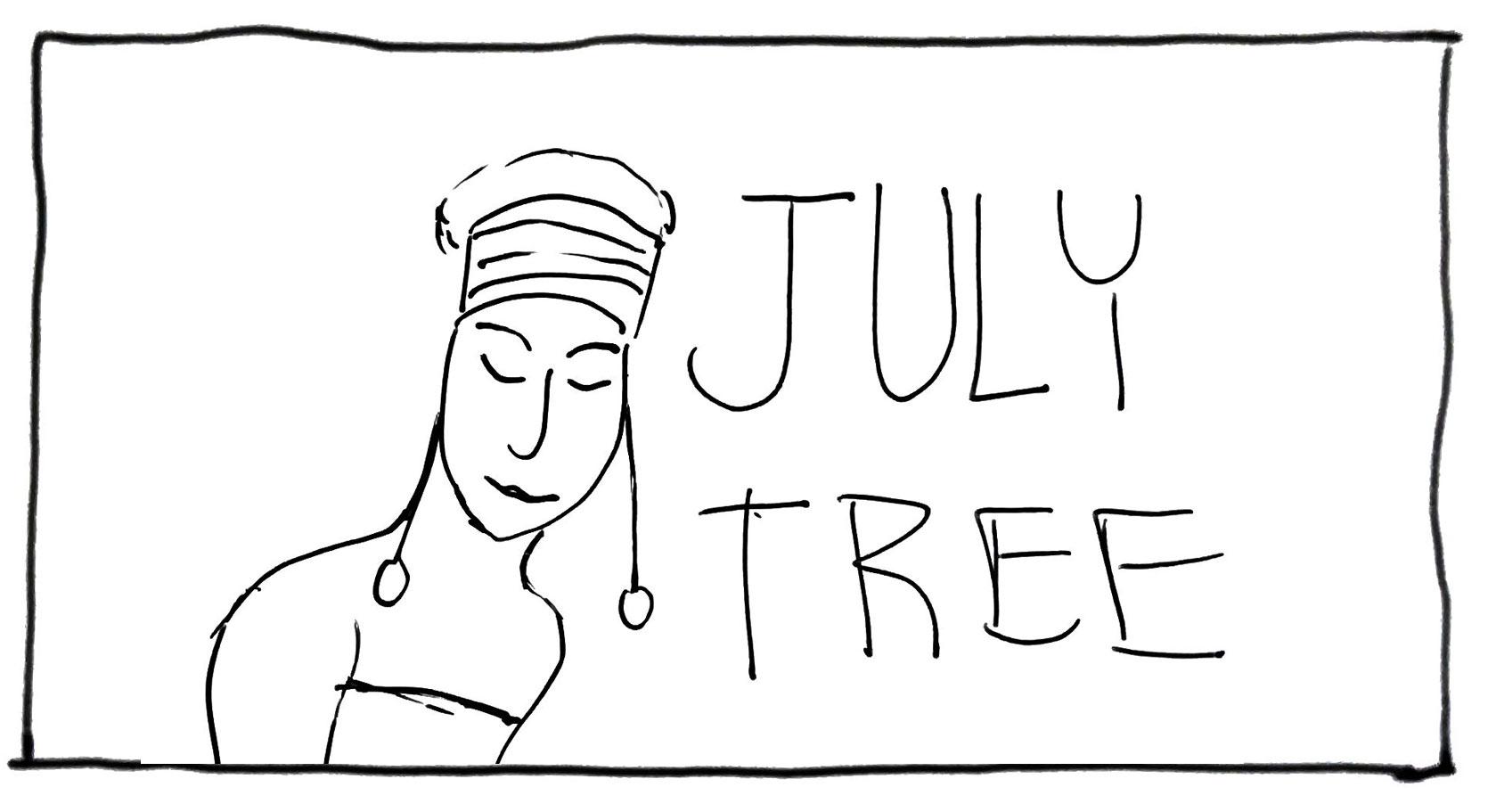 July Tree Chart