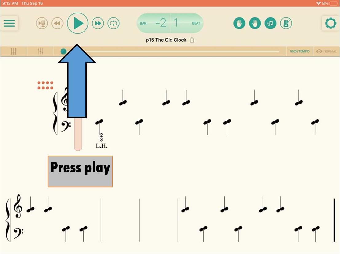 PA Player Press Play
