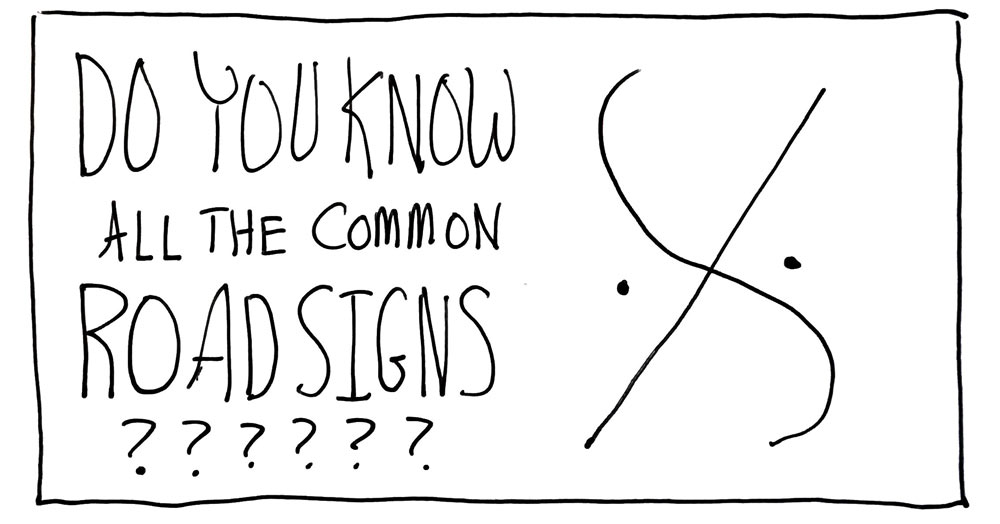 Do You Know How to Follow All the Common Road Signs in Music