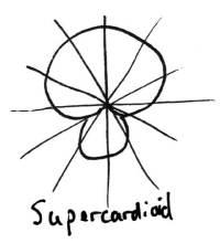 Supercardioid-Pickup-Pattern