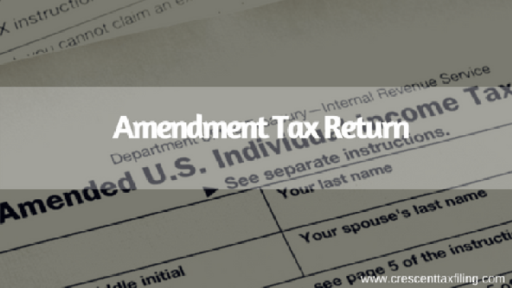 Amendment-Tax-Return
