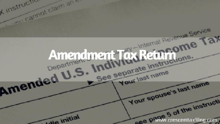 Amendment-Tax-Return