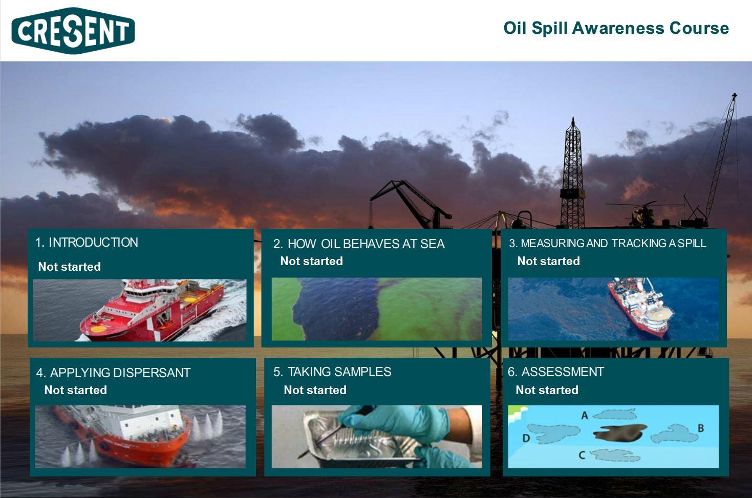Oil Spill Awareness for Vessel Crews