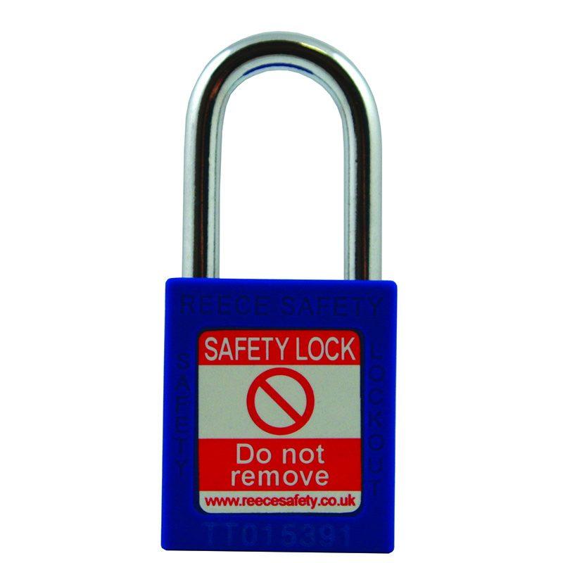 Steel Shackle safety padlock