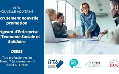 Dirigeant.es de l'Économie Sociale et Solidaire : une opportunité de formation !