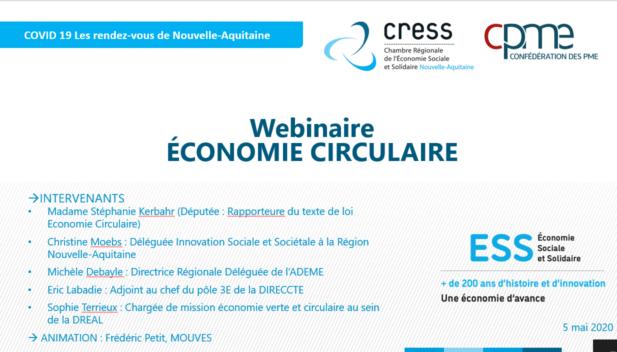 Replay du Webinaire Economie Circulaire