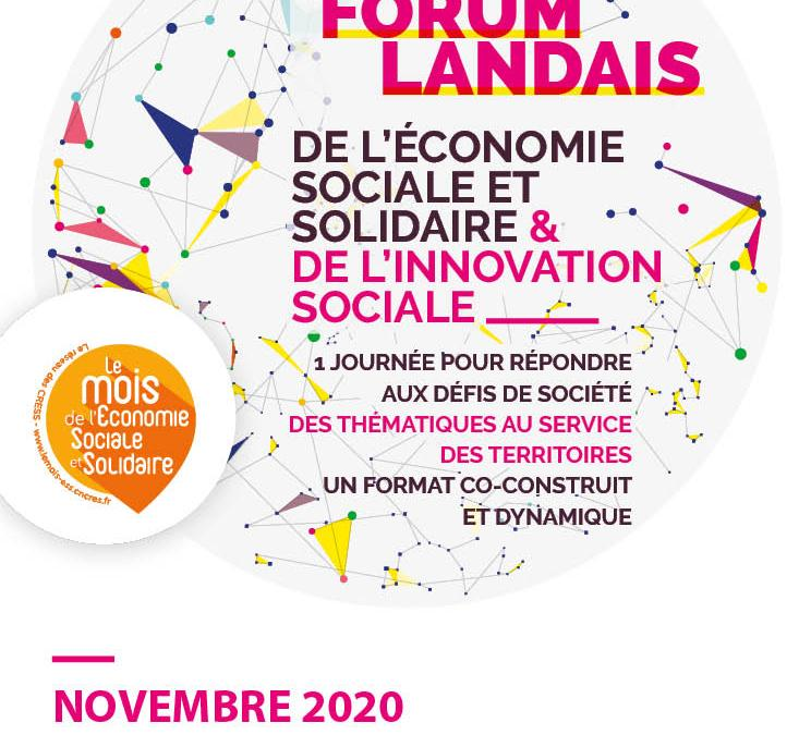 Forum local landais 2020 – Mois ESS
