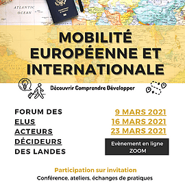 Forum départemental mobilité Europe et International (MEL WIPSEE)
