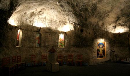 Biserica Sfanta Varvara - Salina din Targu Ocna