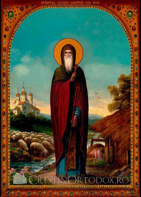 Sfantul Cuvios Dimitrie cel Nou - Basarabov