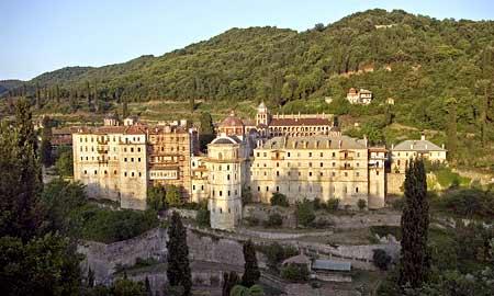 Manastirea Zografu - icoana Sfantului Gheorghe