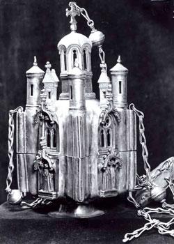 Cadelnita de la Manastirea Tismana