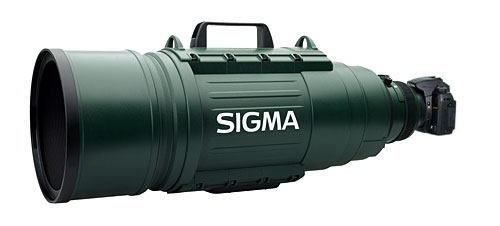 Sigma 200-500mm Super Telephoto lens