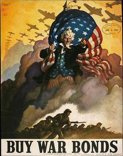Image result for uncle sam world war 2