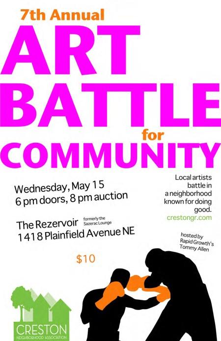 Art Battle poster