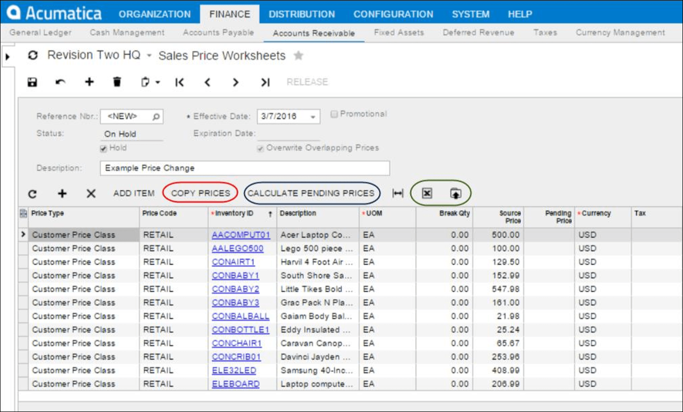 Understanding Item Pricing Amp Discounts In Acumatica