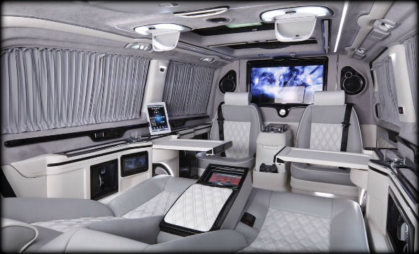 Business Luxury Vans KLASSEN-inside-2