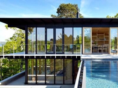 Το εντυπωσιακό σπίτι από ξύλο
