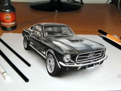 Η 3D ζωγραφική που μπερδεύει πραγματικότητα με φαντασία