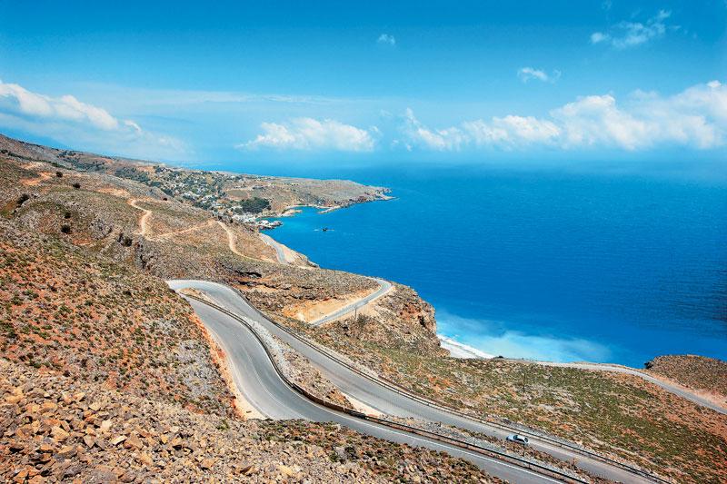 sfakia-roads
