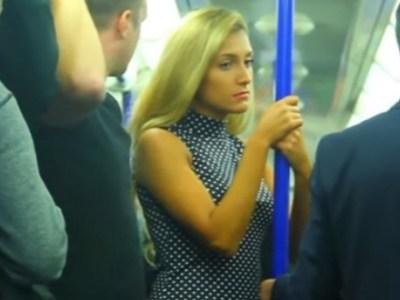 Σεξουαλική παρενόχληση γυναίκας στο μετρό