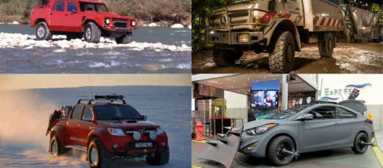 Τα αυτοκίνητα που θα επιβιώσουν στην Αποκάλυψη
