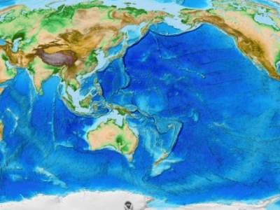 Πως είναι πραγματικά ο χάρτης της γης