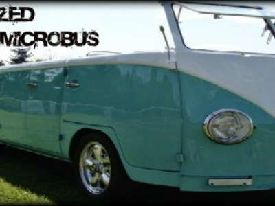 Customized 1967 Volkswagen MicroBus