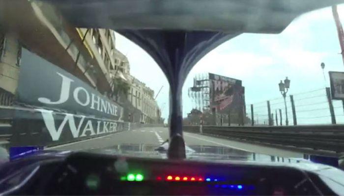 Έτσι είναι να οδηγάς στην πίστα του Μονακό