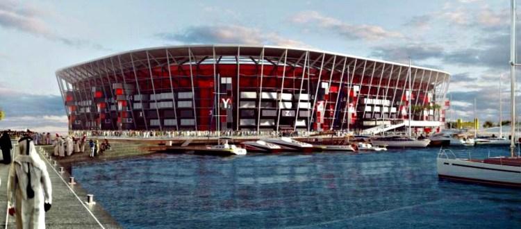 Στο Κατάρ χτίζουν γήπεδο από κοντέινερ