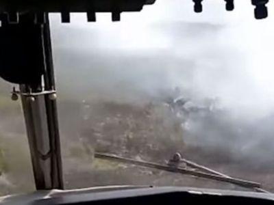 Εικόνες από τα Canadair που κόβουν την ανάσα