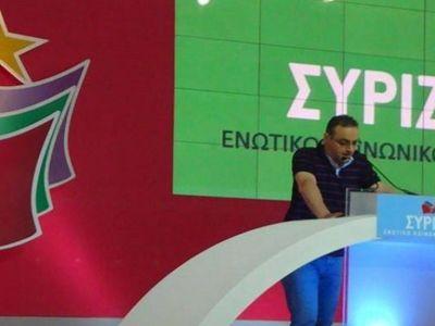 Νέος συντονιστής του ΣΥΡΙΖΑ Ηρακλείου