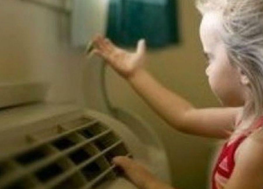 Κλιματιστικό και παιδί