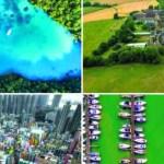 Εντυπωσιακές φωτογραφίες με τον κόσμο από ψηλά