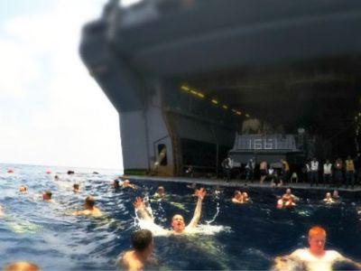 Πως χαλαρώνουν οι ναύτες στο ΠΝ των ΗΠΑ;