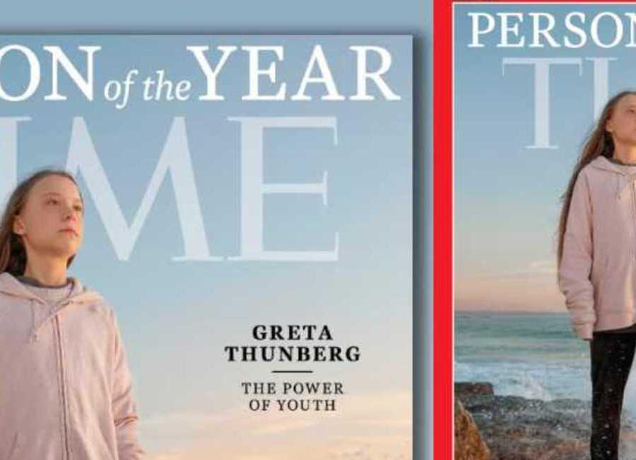 Η Γκρέτα Τούνμπεργκ πρόσωπο της χρονιάς
