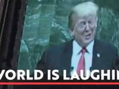 Περίγελος της διεθνούς κοινότητας ο Τραμπ