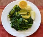 Σαλάτα ή κύριο πιάτο: στίφνος και βλίτα με κολοκυθάκια