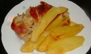 Ψητό στο φούρνο με πατάτες