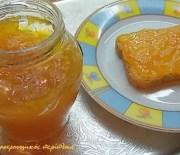 Βελούδινη μαρμελάδα πορτοκάλι