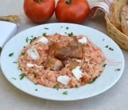 Ντοματόρυζο με σύγλινο Κρήτης (video)