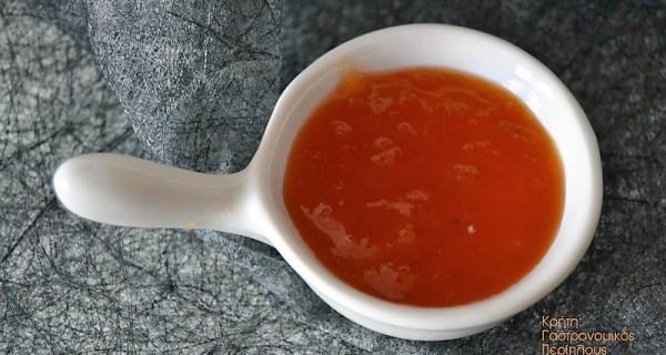Μαρμελάδα βερίκοκο στο φούρνο