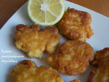 κουνουπίδι τηγανητό κουρκούτι μενού 44 κολάζ συνταγές cretangastronomy.gr