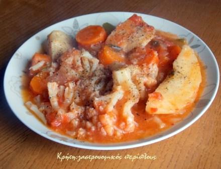 κουνουπίδι γιαχνί ντερμπιέ αυγολέμονο μενού 41 κολάζ συνταγές cretangastronomy.gr