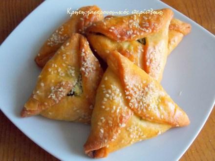 σπανακοκαλίτσουνα καλιτσούνια φούρνο μενού 42 κολάζ συνταγές cretangastronomy.gr