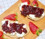Πικάντικη (καυτερή) μαρμελάδα φράουλα