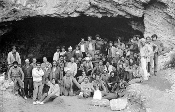 Από τις αρχαιολογιές ανασκαφές στο Ιδαίο Άντρο