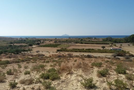 Seaside plot near to Kalamaki