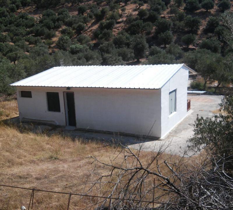 Plot with country House  at village Rodakino-Rethimno